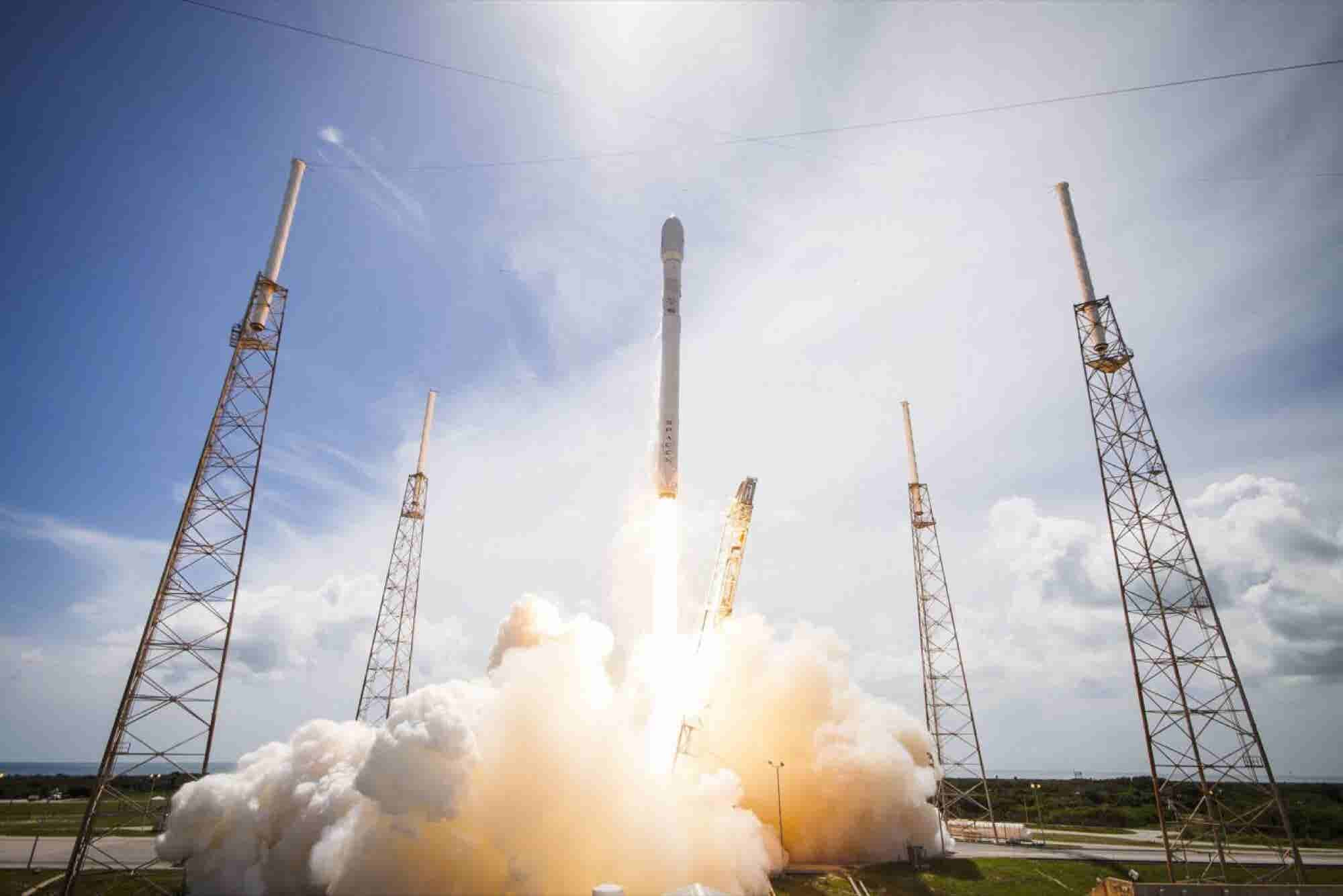 Elon Musk Says Falcon 9 Second Stage Recovery Requires 'Giant Party Balloon'