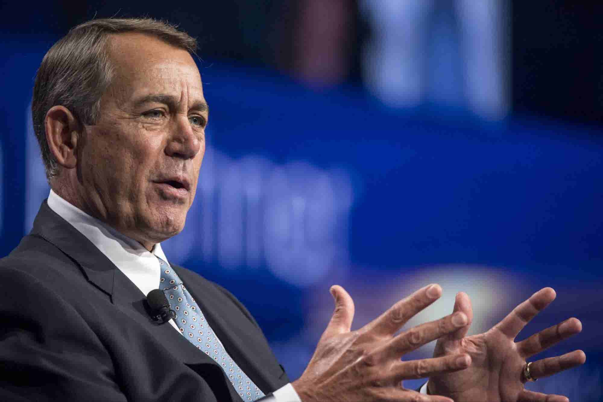 John Boehner Succeeded in Politics Opposing Marijuana but in Retirement Has Joined the Medical Marijuana Industry