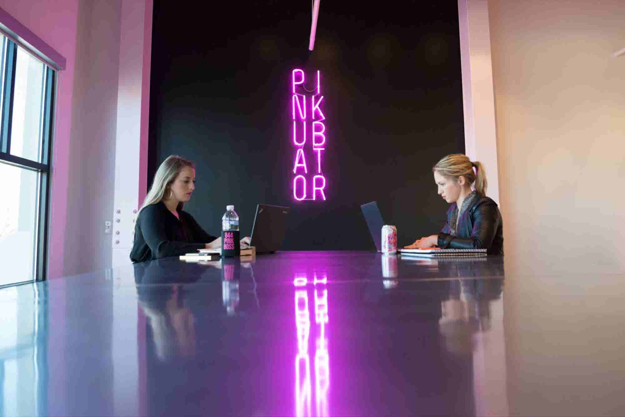 This Incubator for Women-Focused Businesses Finds the Color Pink Empowering, Not Demeaning