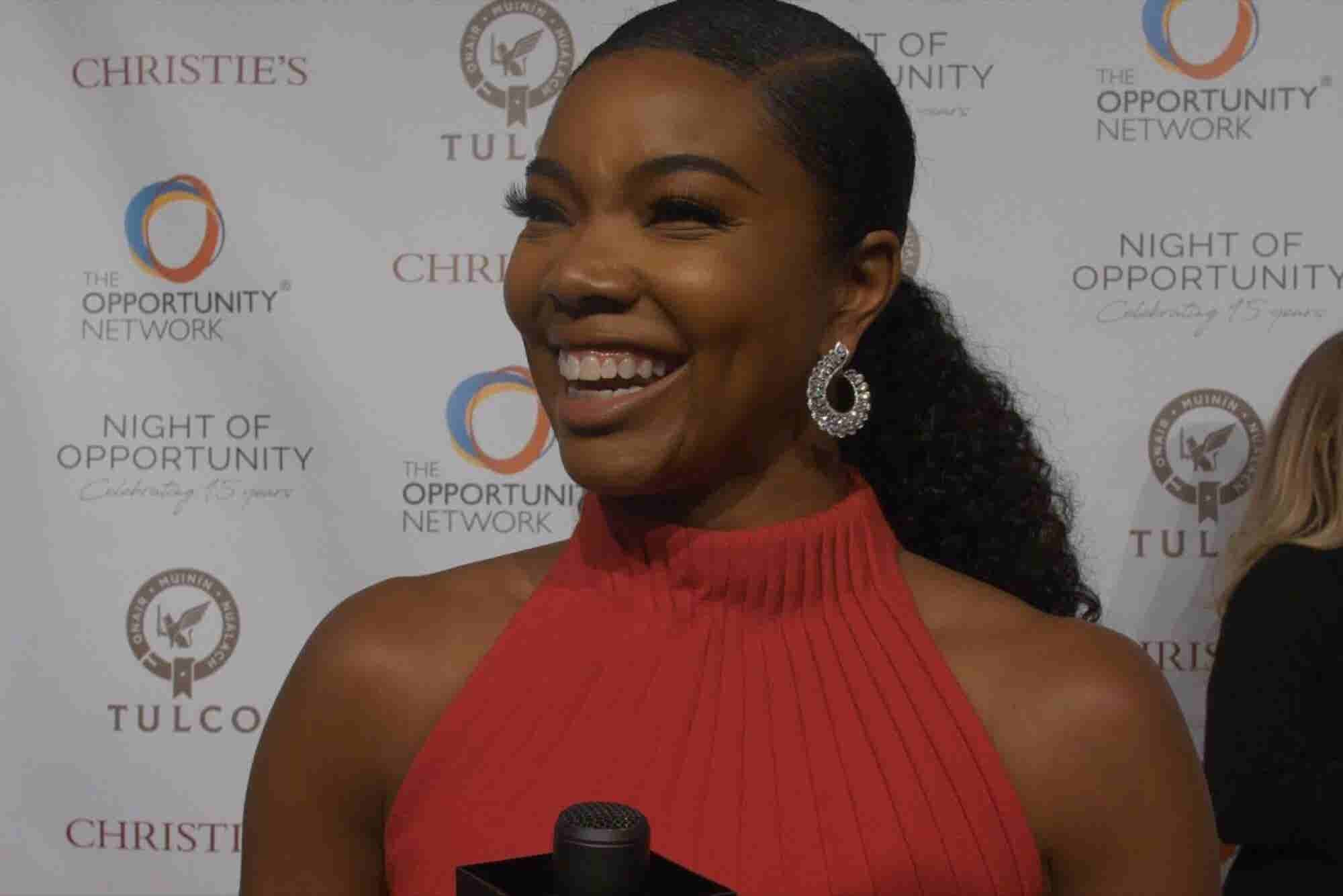 Gabrielle Union Gives an Impromptu Pep Talk You Won't Soon Forget