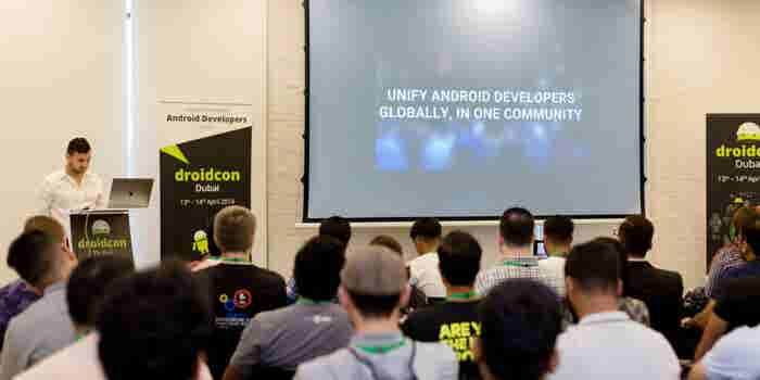 MENA's Android Developer Community Congregate At Droidcon Conference At In5 Dubai