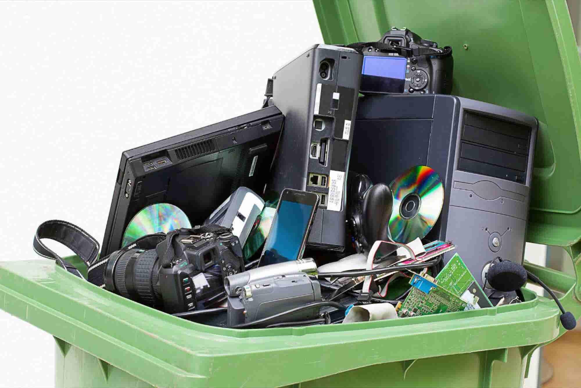 Esta app te ayuda a deshacerte de tu basura electrónica