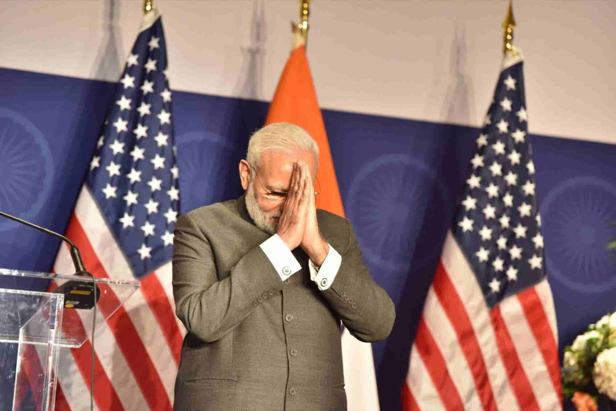 PM Modi Trumps US President on Facebook