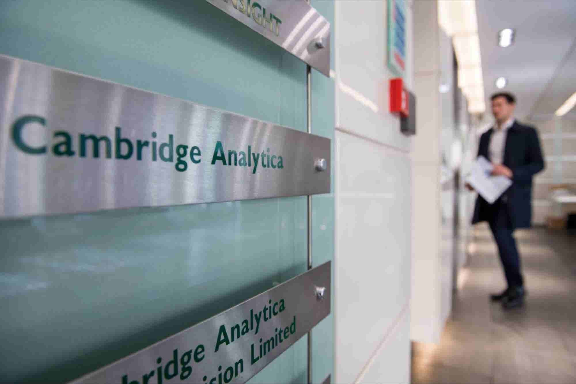 Cambridge Analytica Is Closing, But It Solves Nothing