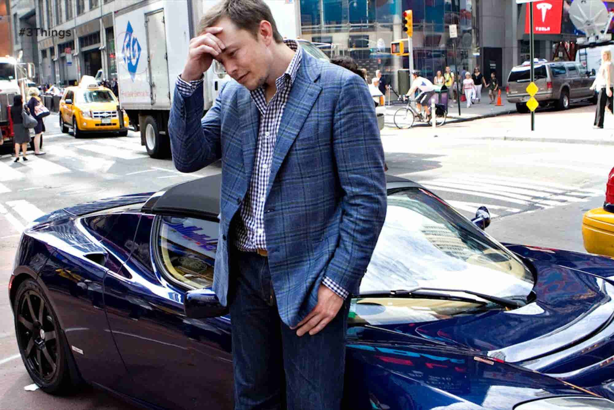 Tesla Takes a Tumble, and It's Time to Change Your Twitter Password: 3 Things to Know Today