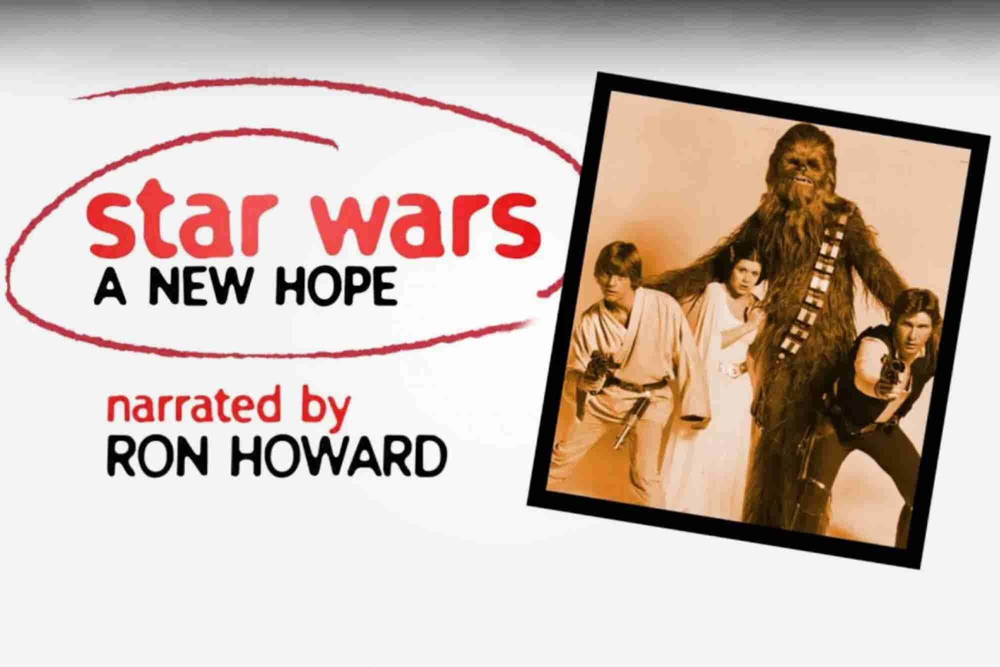 Ron Howard Creates a Great Bit of Marketing by Combining 'Stars Wars'...