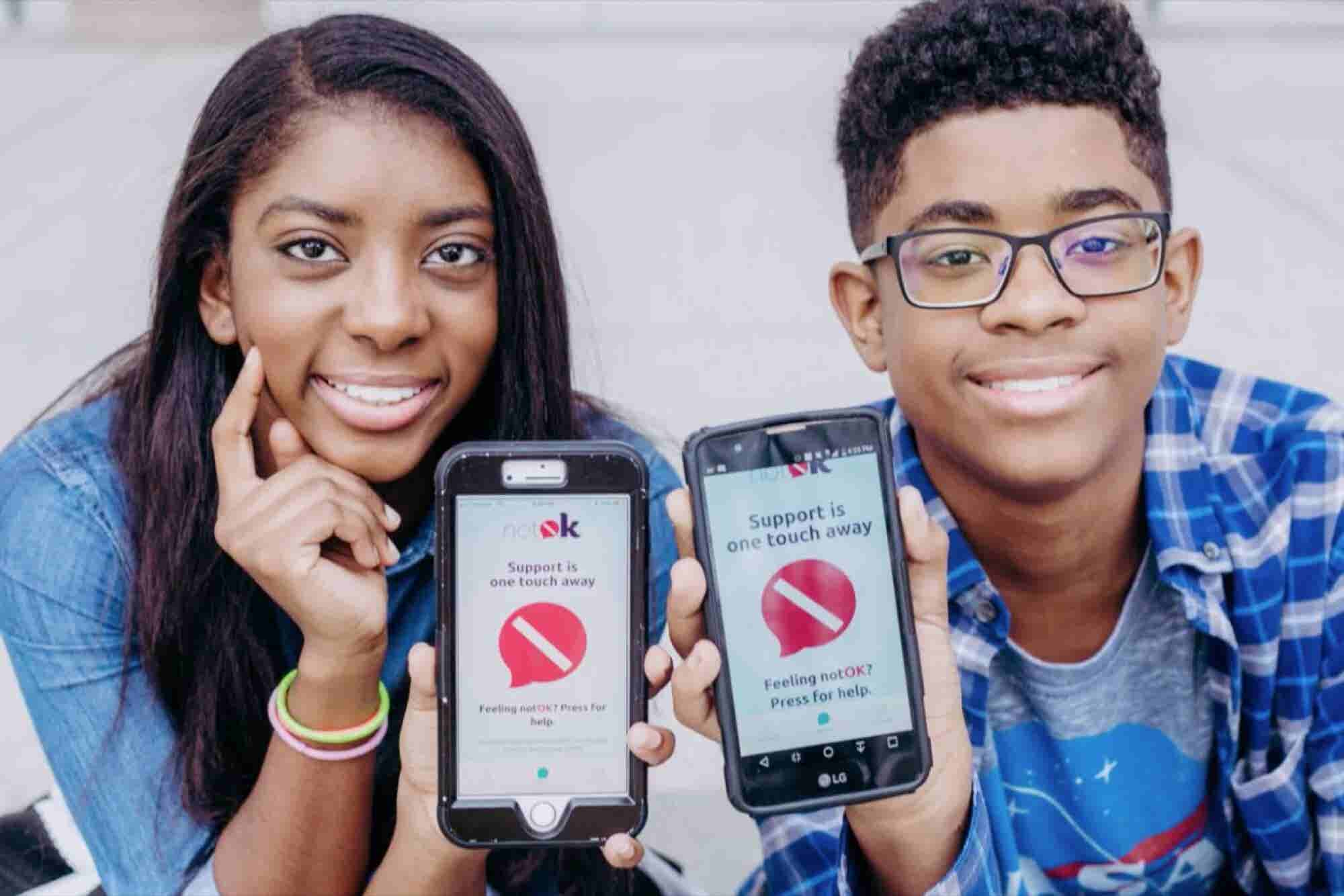 How Two Teenpreneurs Are Helping People When They Are 'Not Okay'