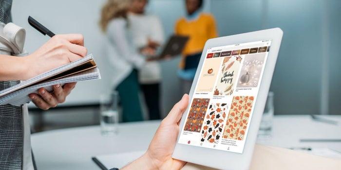Pinterest facilita su navegación para usuarios con impedimentos visuales