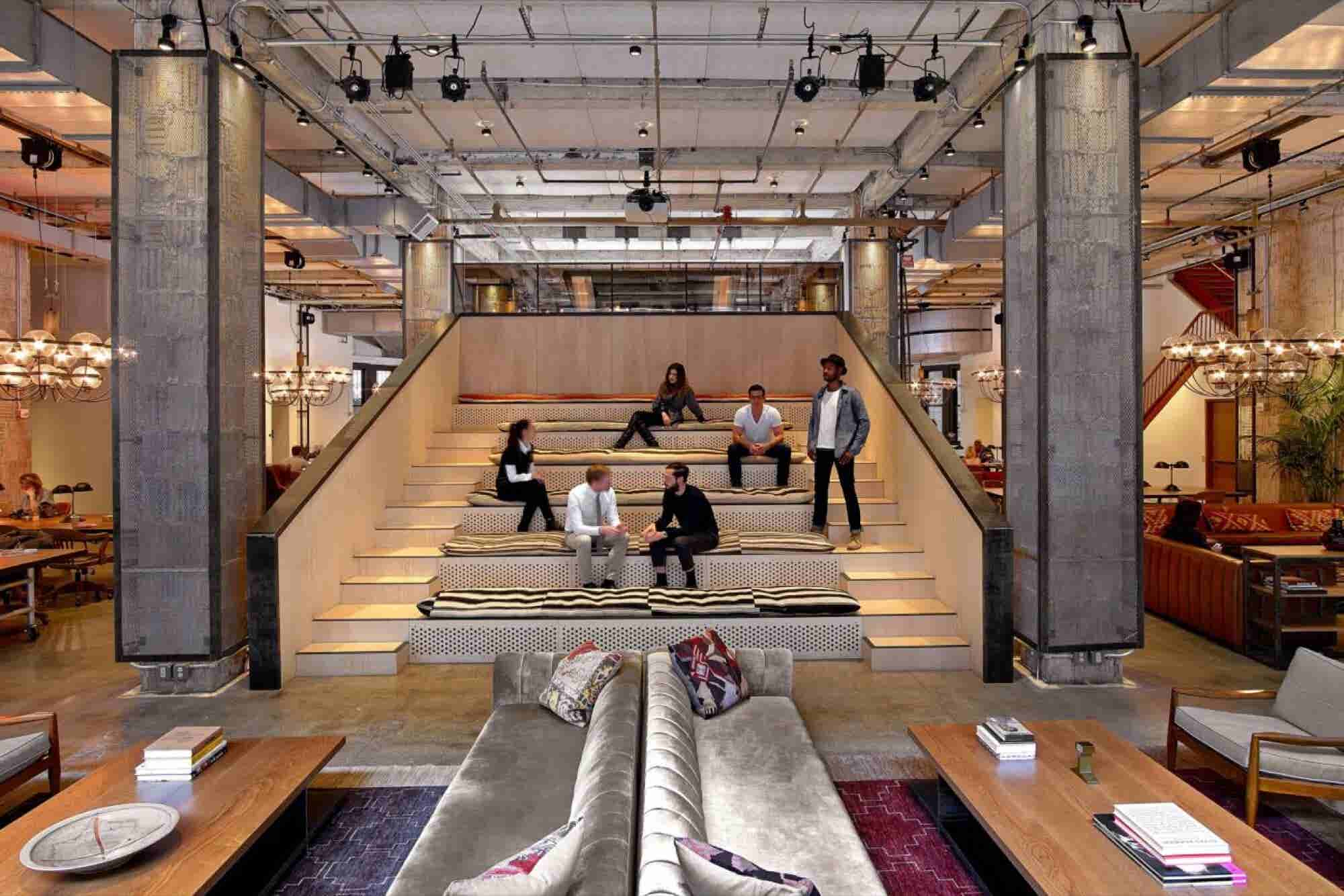 Tour This Upscale Coworking Space That Strives to Energize and Inspire Its Members