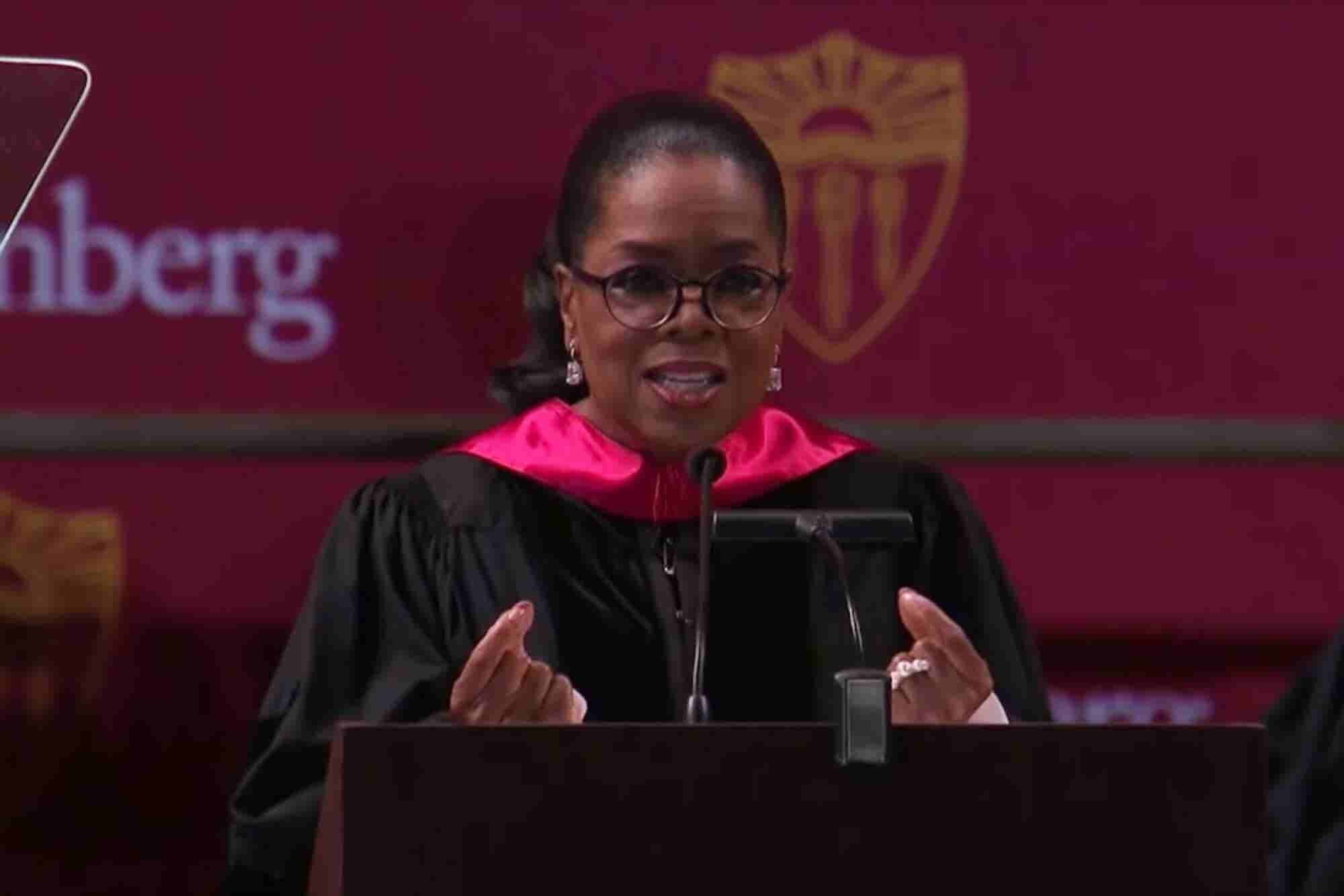 Watch Oprah Winfrey's Empowering 2018 USC Commencement Speech (Transcript)