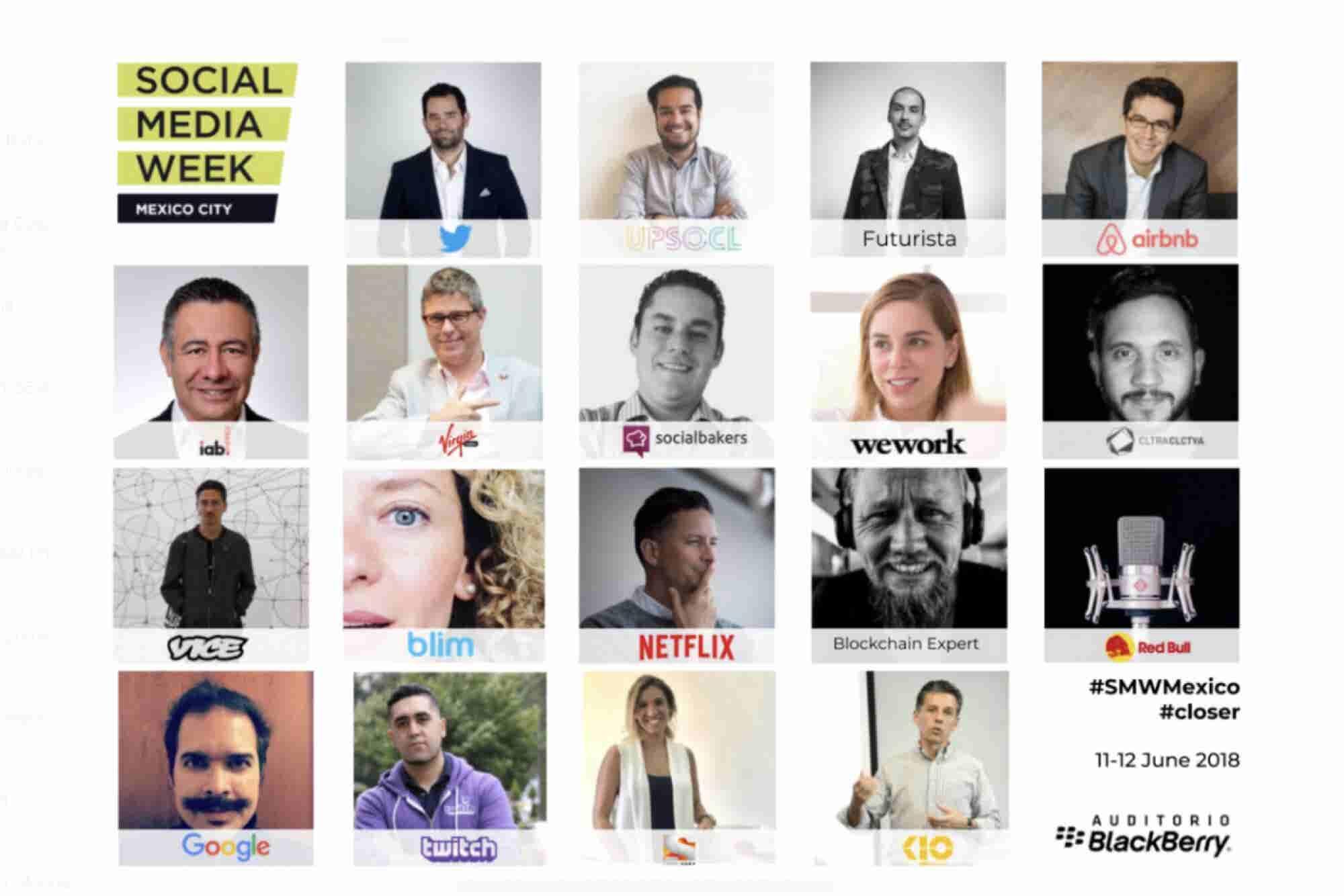 ¡Regresa el Social Media Week a Mexico!