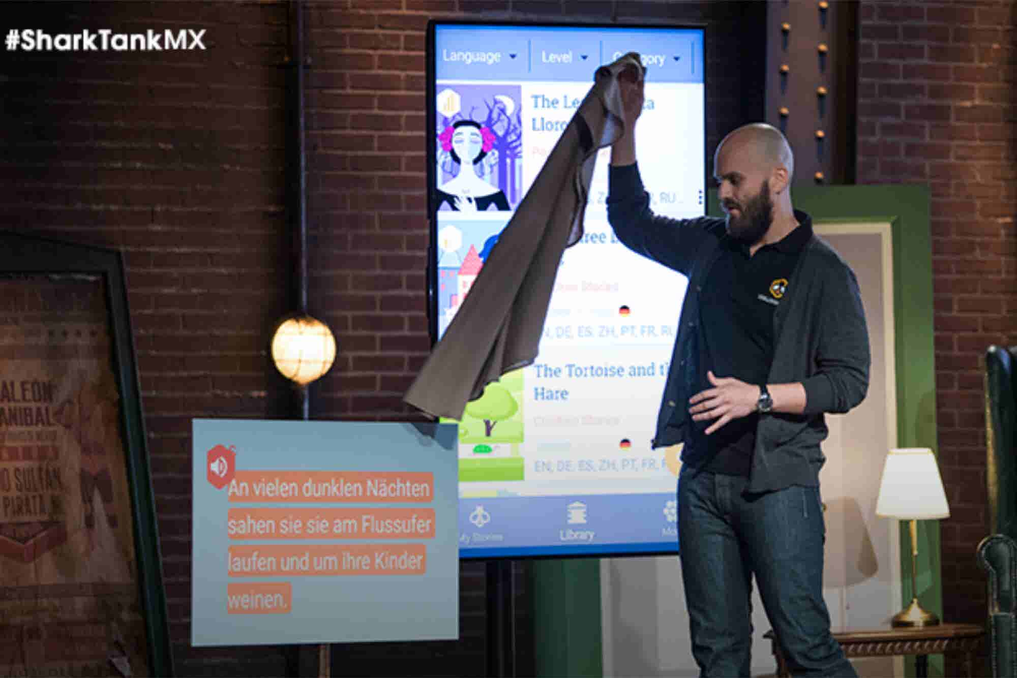 La app para aprender idiomas que consiguió 10 millones de pesos en Shark Tank México