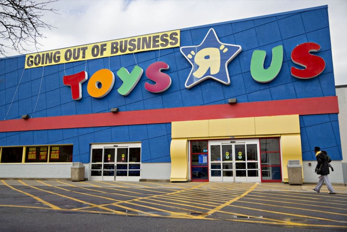 Bankrupt Toys R Us Is Auctioning Off Hundreds Of Domain Names In