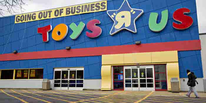 Bankrupt Toys R Us Is Auctioning Off Hundreds Of Domain Names in Fire Sale