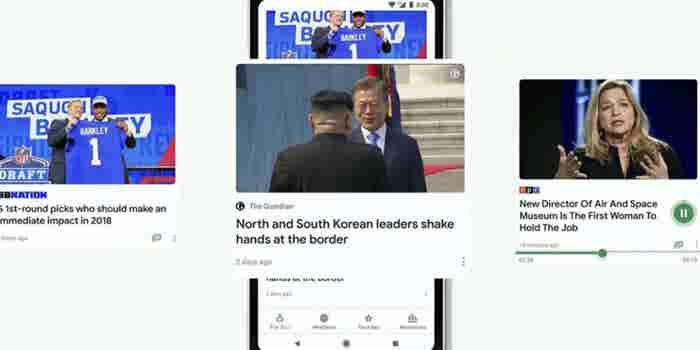 La aplicación de noticias basada en inteligencia artificial de Google llega a iOS