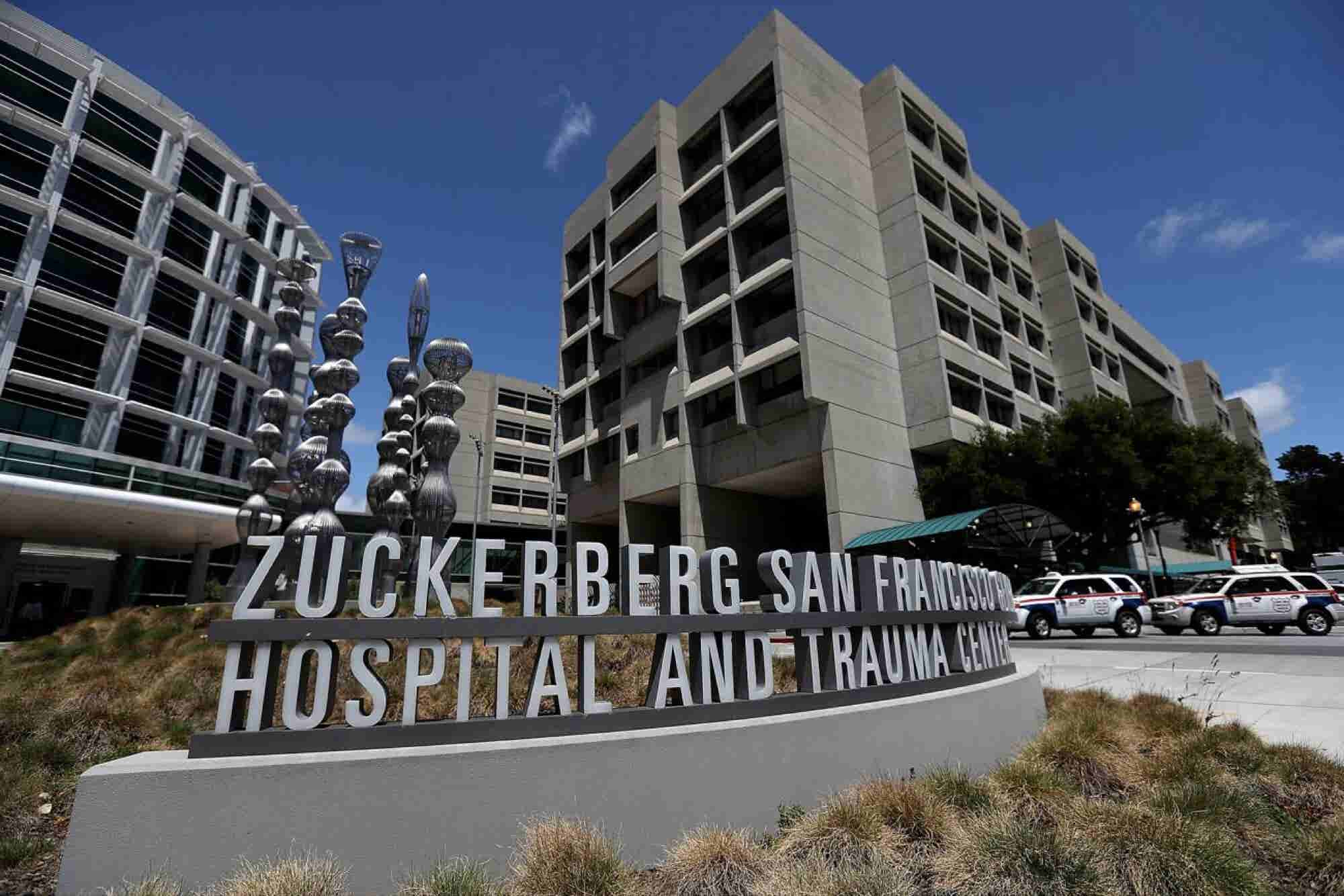 Zuckerberg's Name Must Go, Says a Group of San Francisco General Hospi...