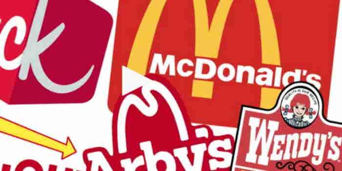 Por qué tantos logotipos de comida rápida son rojos