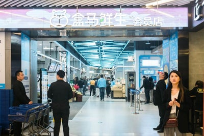 Alibaba's Futuristic Supermarket in China Is Light-Years Ahead of the...