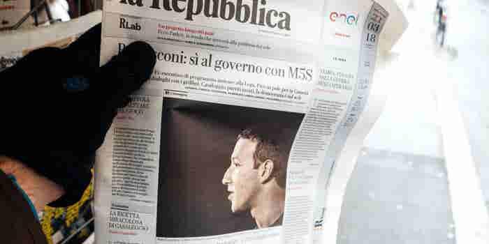 Zuckerberg pide disculpas ahora ante la Eurocámara