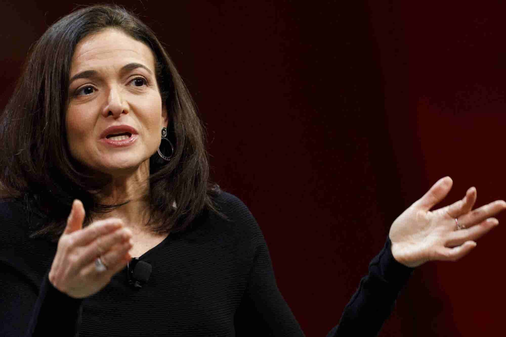 Sheryl Sandberg Claps Back at Apple CEO Tim Cook's Facebook Disses. 3...