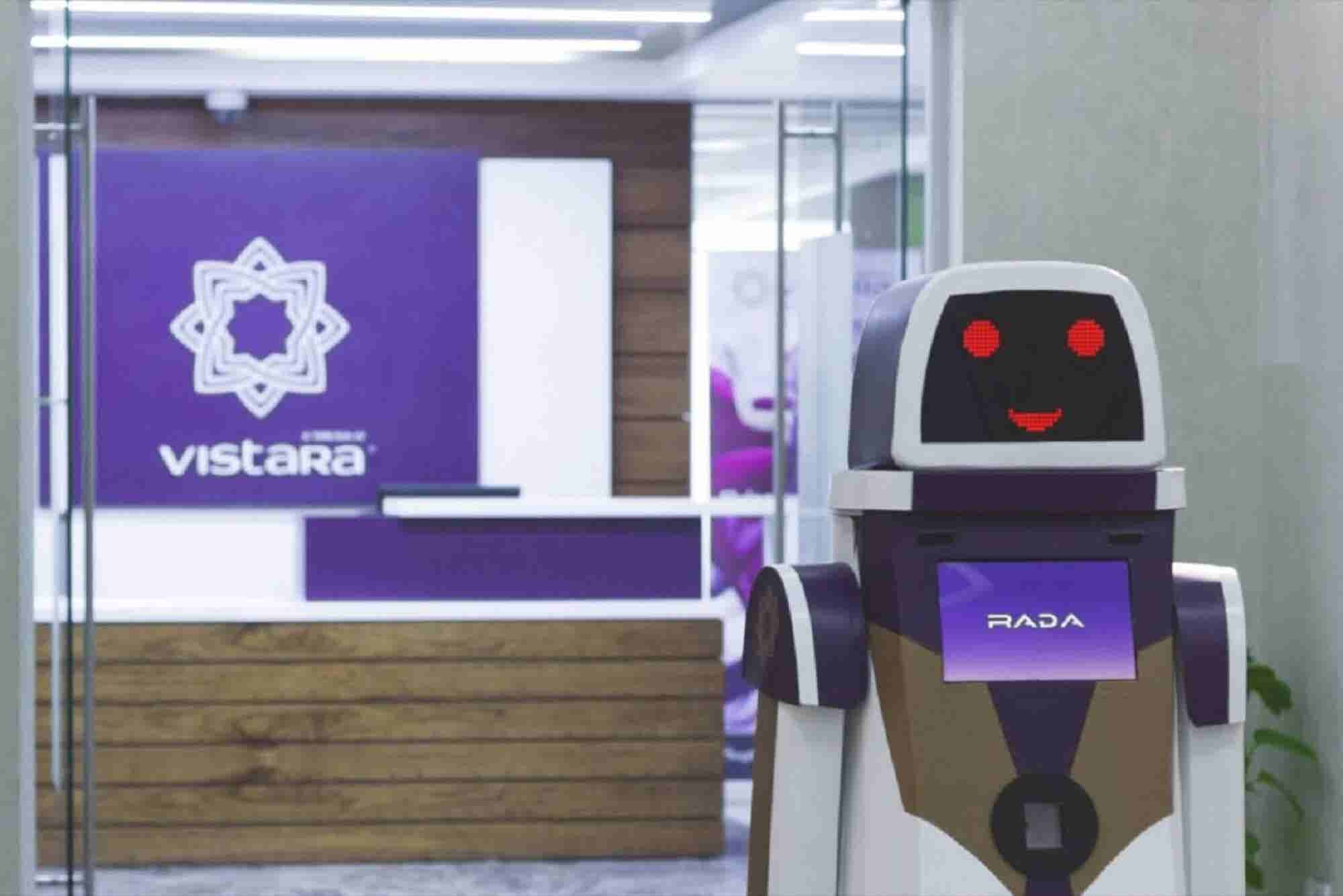 RADA - Your #AI- powered Assistant at the Airport is Here. 4 Things to Know