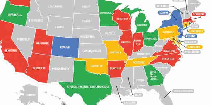 These Are the Most Misspelled Words in Every State