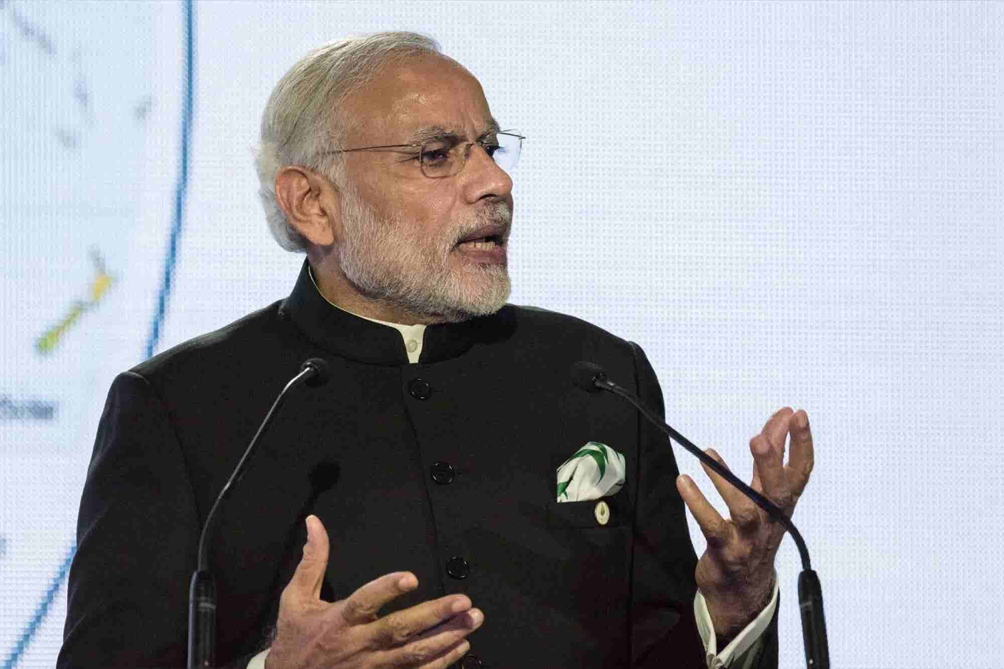 Prime Minister Narendra Modi Says Entrepreneurs Need the 3Cs for Success