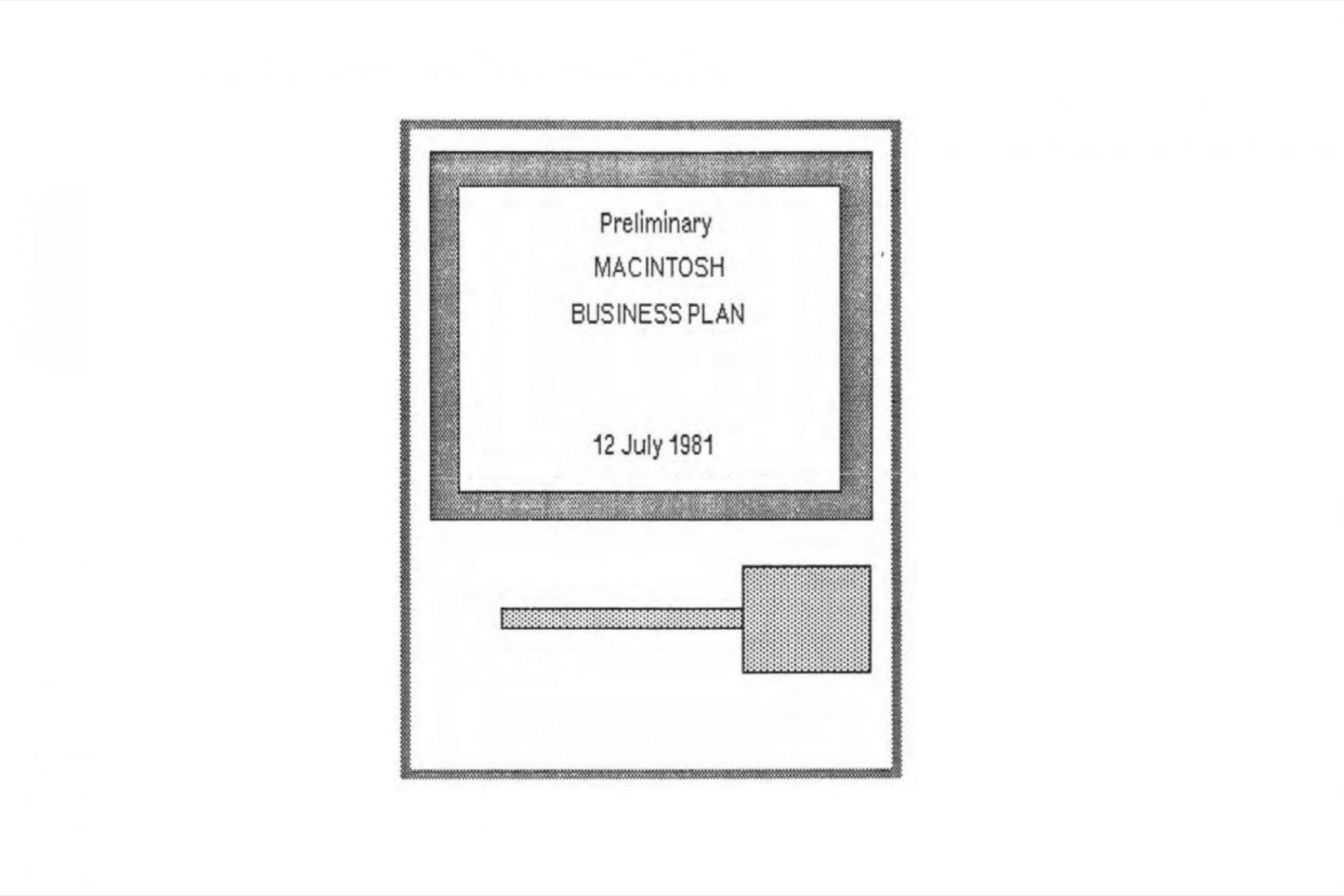Need a Business Plan Template? Here Is Apple's 1981 Plan for