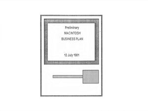 Business plans news topics need a business plan template here is apples 1981 plan for the wajeb Images