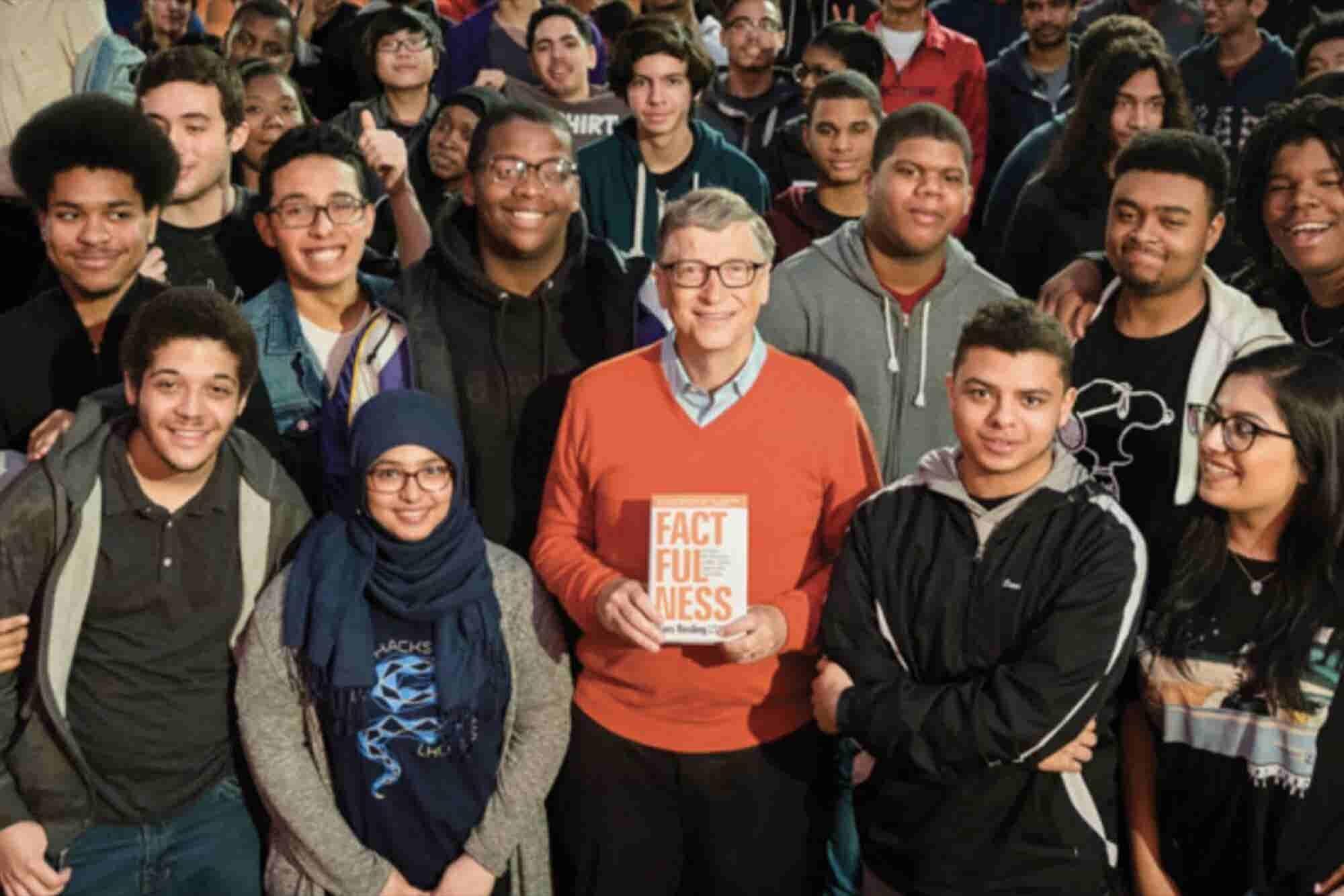 El libro que Bill Gates está regalando a miles de personas