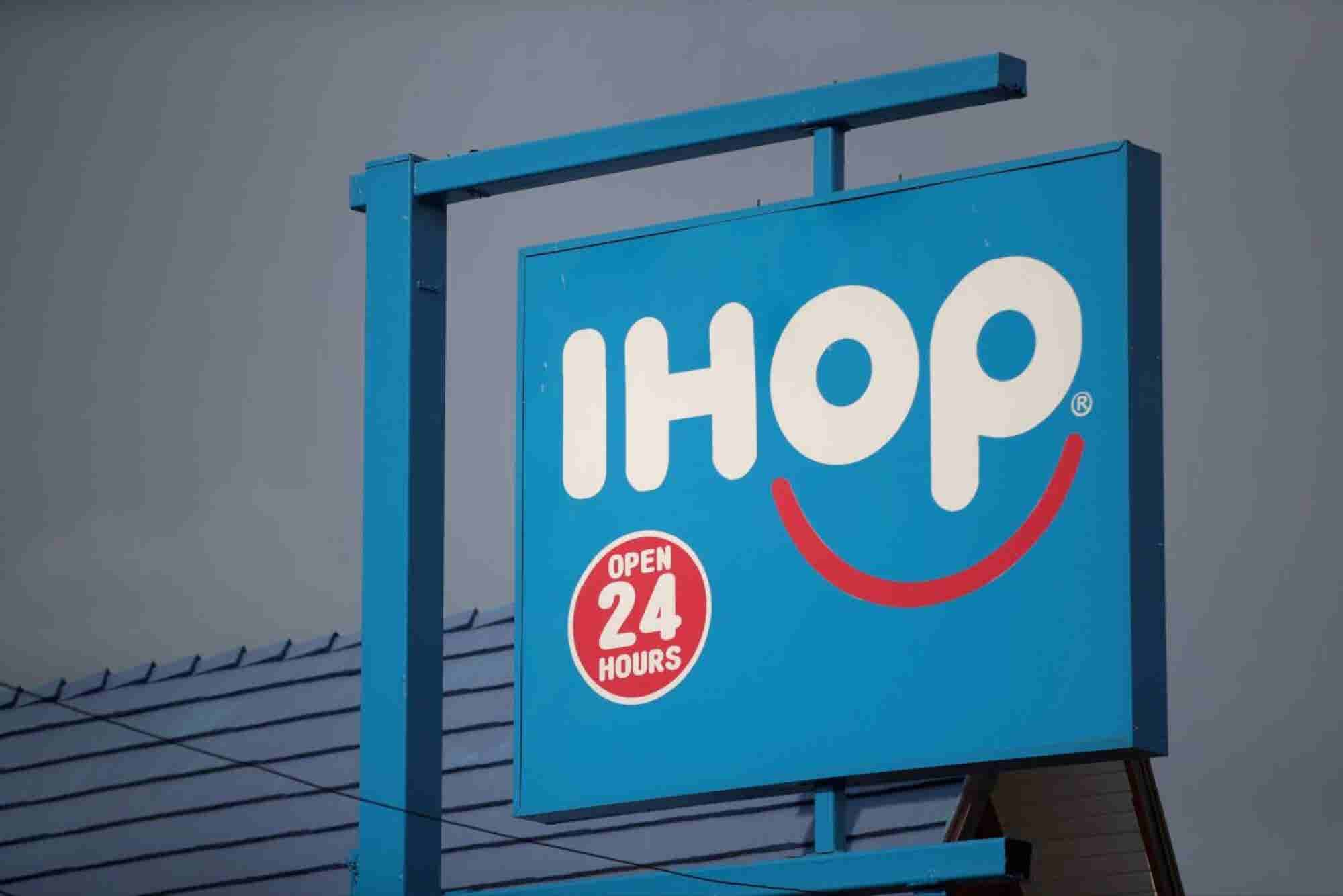 IHOP Changes Its Name to 'IHOb' and Reveals What the 'B' Stands for