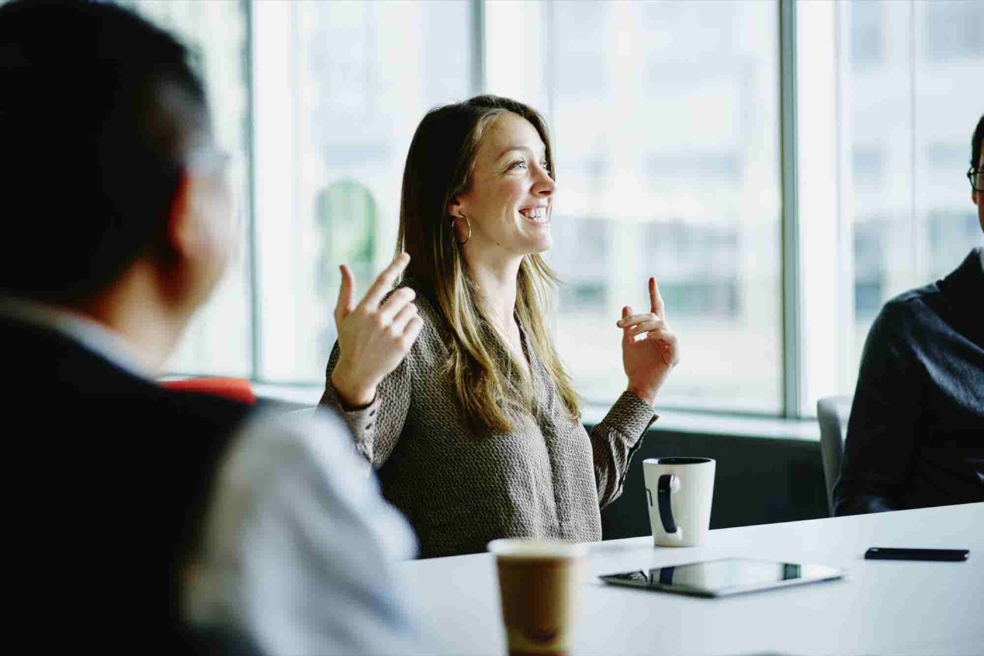 Head Into Your Next Male-Dominated Meeting Ready to Contribute by Foll...
