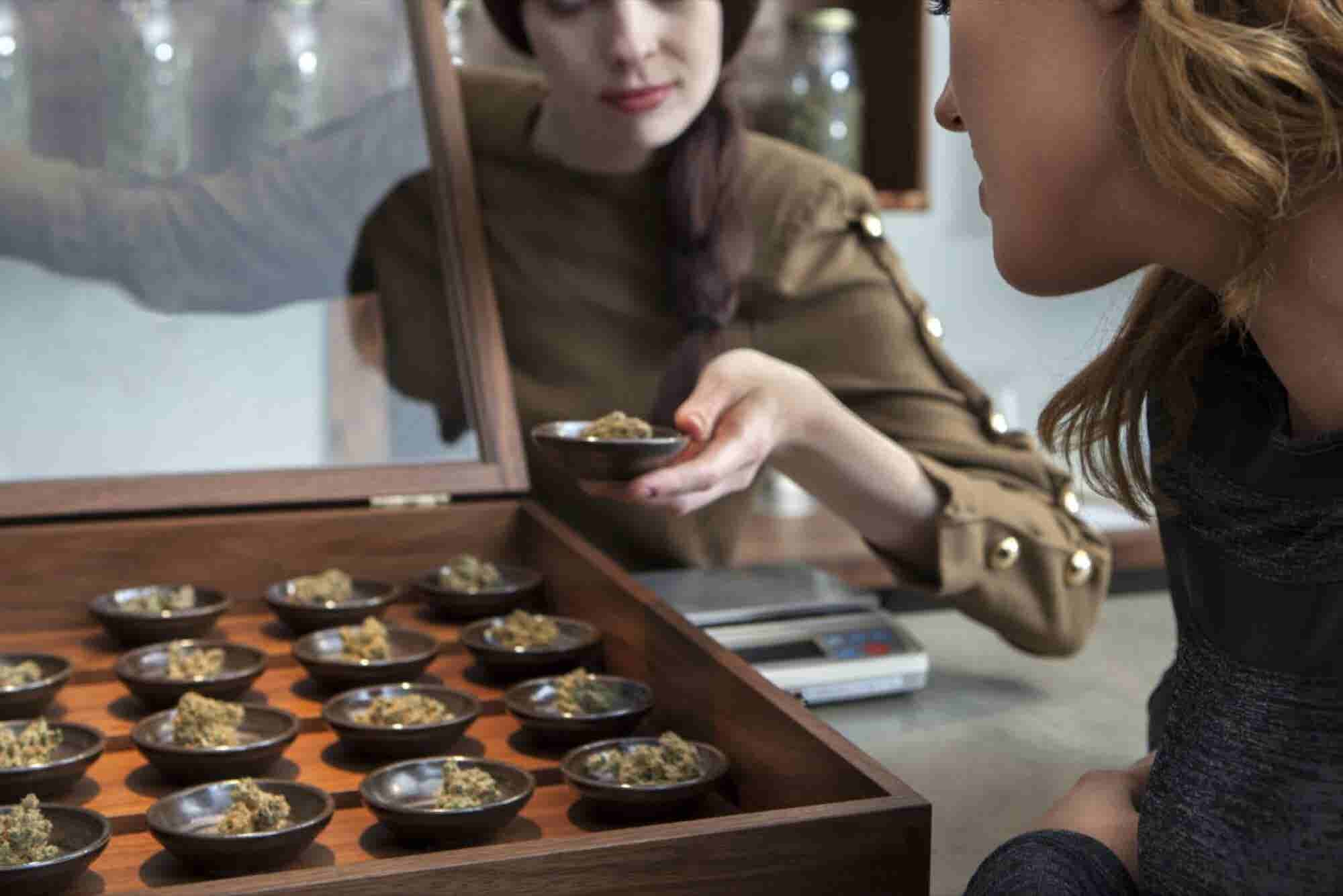 She Was a Caterer. Now She's a Budtender.