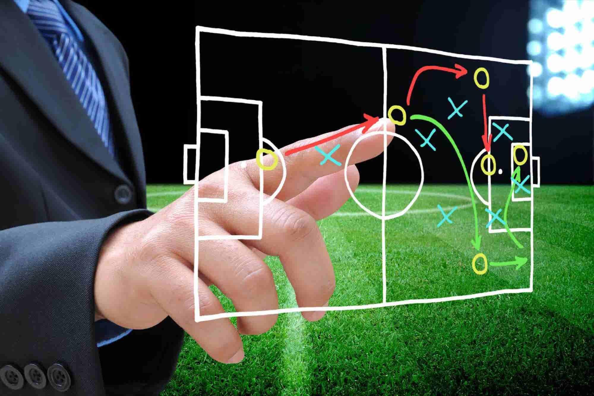 Estas son las estrategias de fútbol que puedes aplicar a tu Pyme