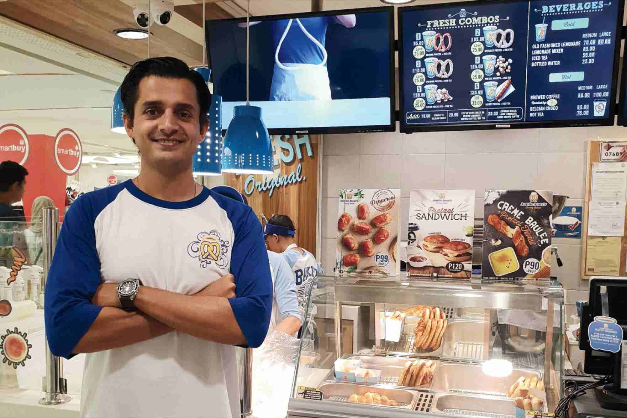 How This Man Became Auntie Anne's Pretzel King in the Philippines