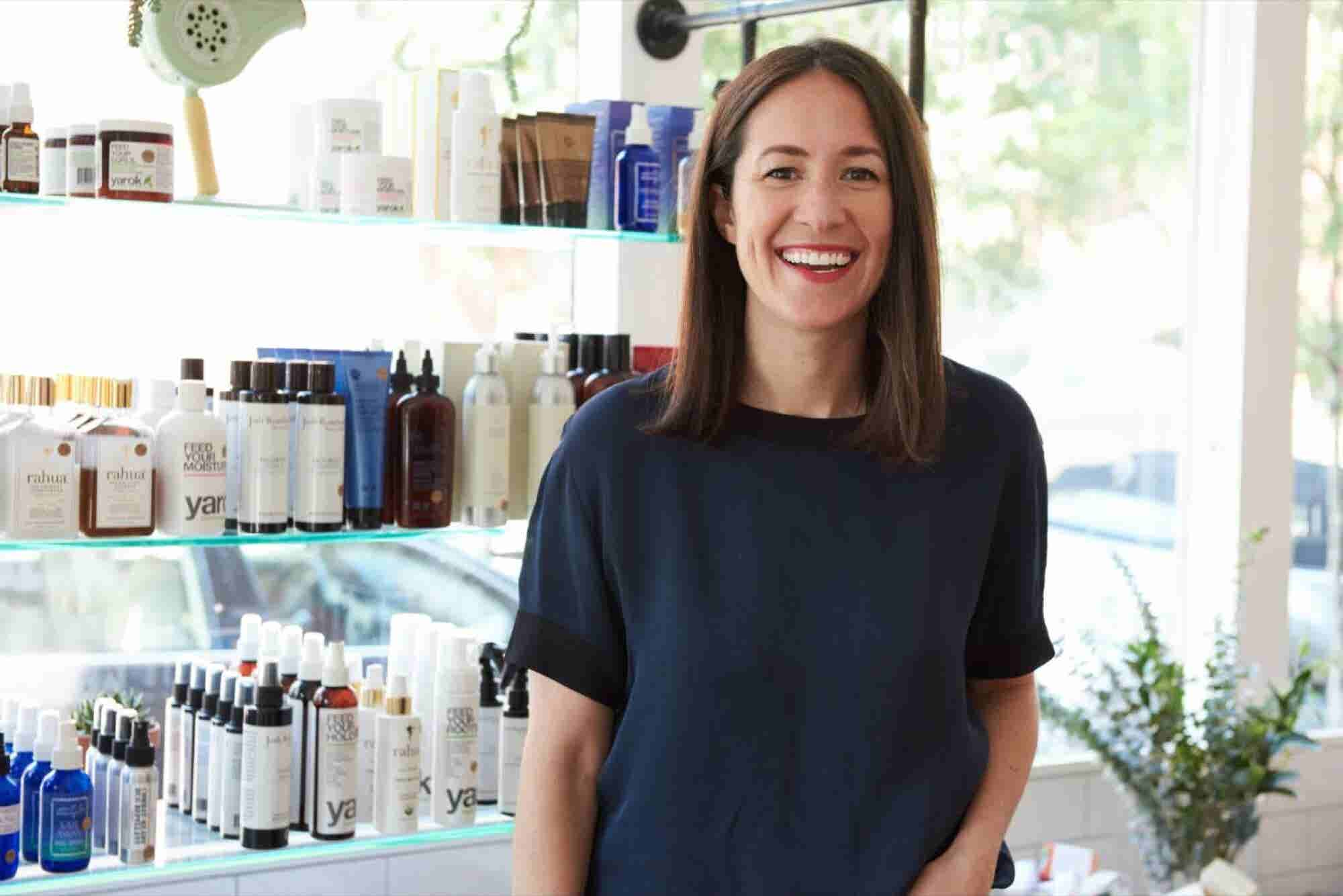 The Mentor for This Clean Beauty Retail Founder Lent Her Influence and...