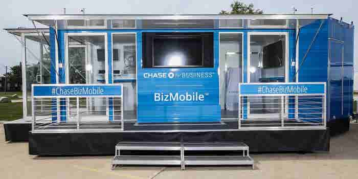 For the Mobile Digital Age, Chase's BizMobile Promotes Small Business Virtues