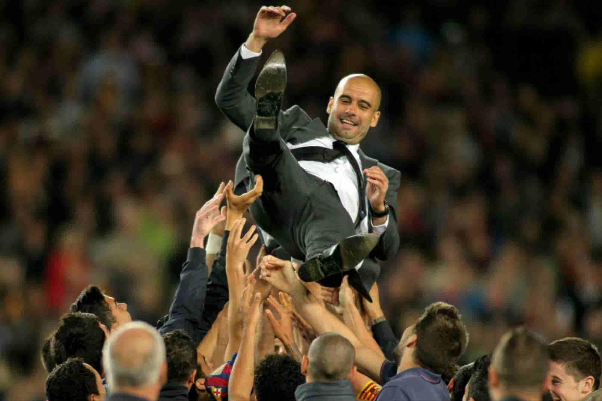 Los 5 principios de management de Pep Guardiola
