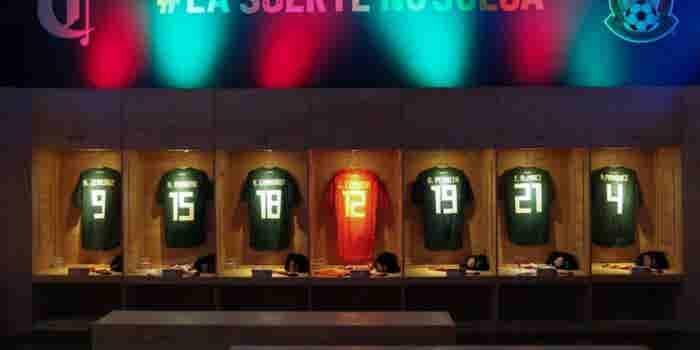 El museo que aprovecha la fiebre mundialista