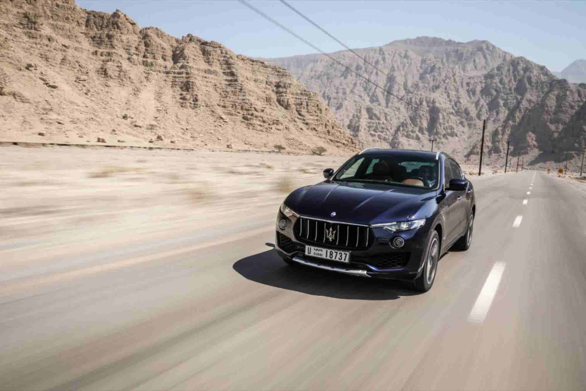 The Outlier: The Maserati Levante S Is A Refreshing Splash Of Color In The Grey World Of Premium SUVs