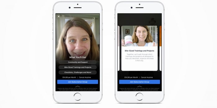 Facebook Tests Charging Subscriptions for Access to Groups