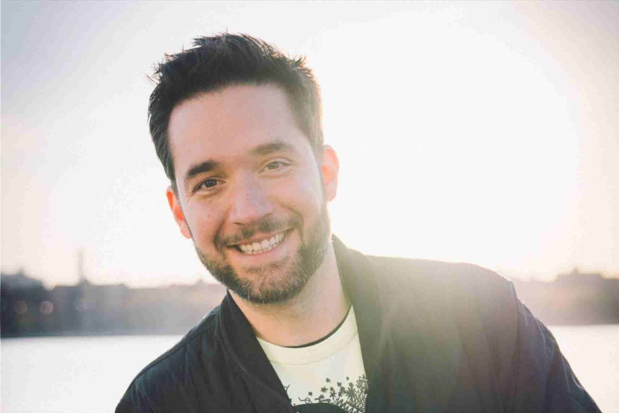 Reddit Co-Founder Alexis Ohanian's Top Self-Care Strategies for Entrepreneurs