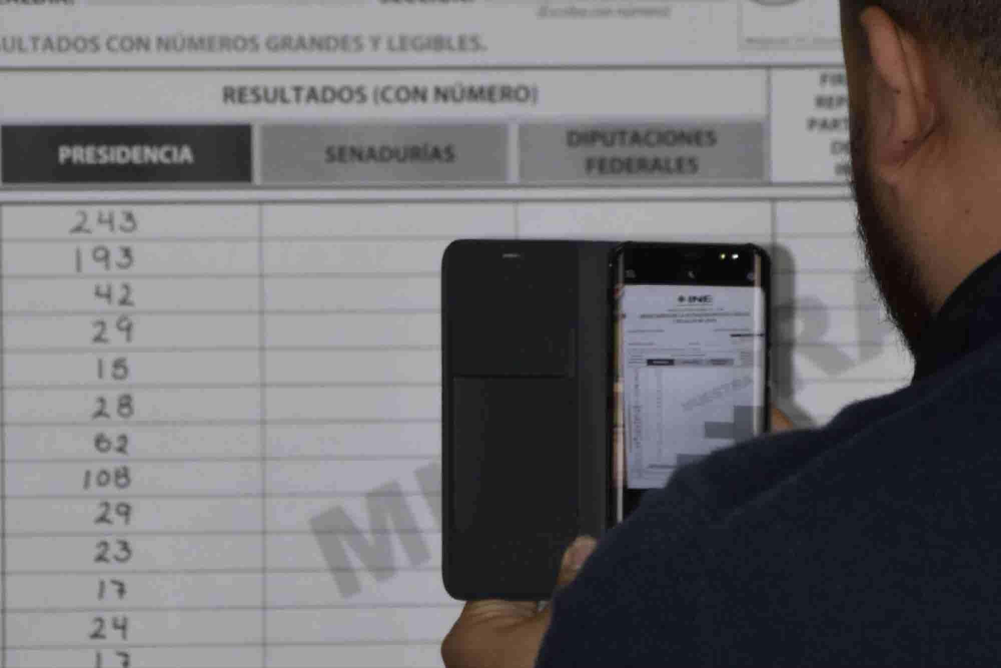 La app que te invita a ser parte activa del conteo electoral con una foto