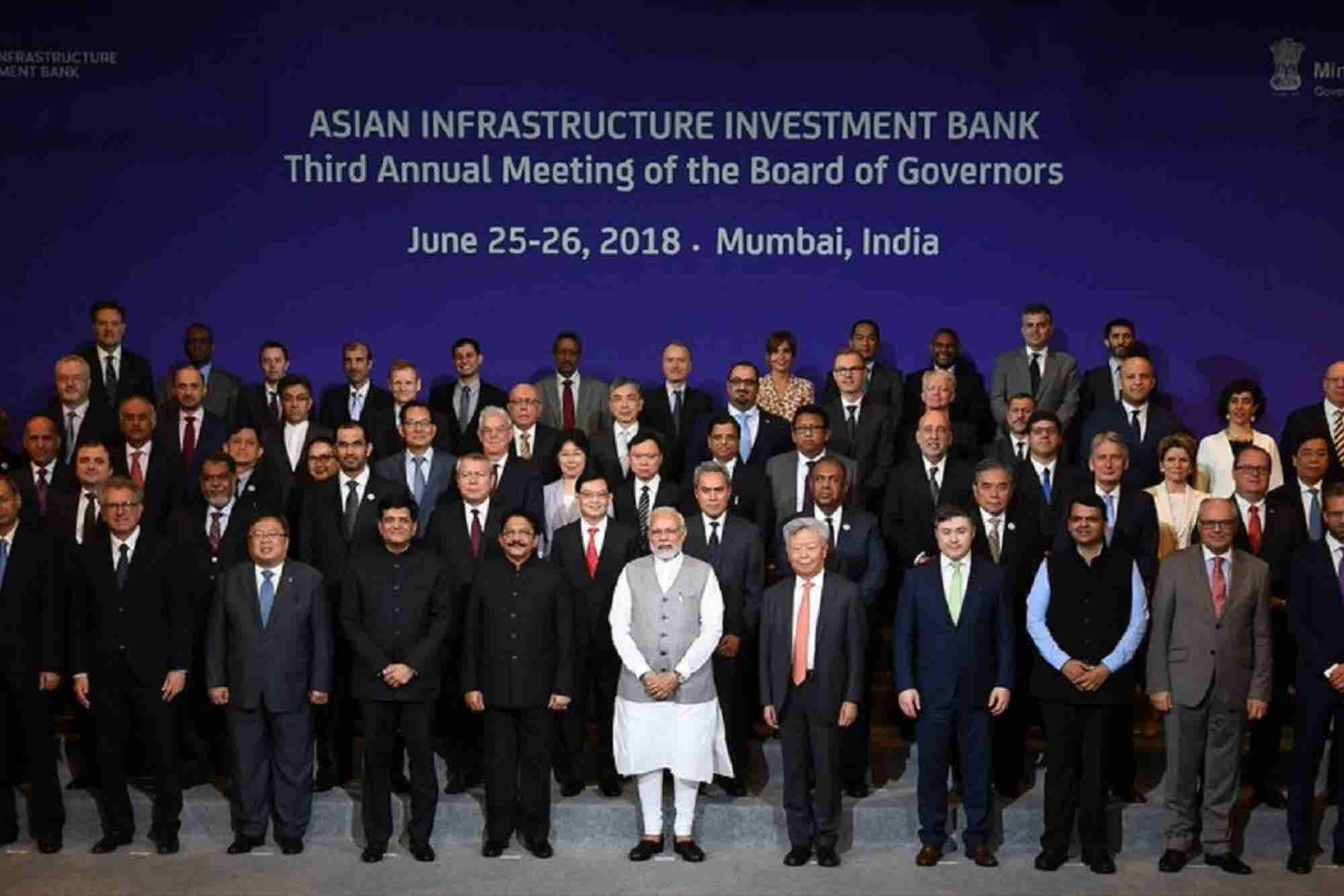 Indian Prime Minister Urges China-led AIIB to Tenfold Financing in Two-years
