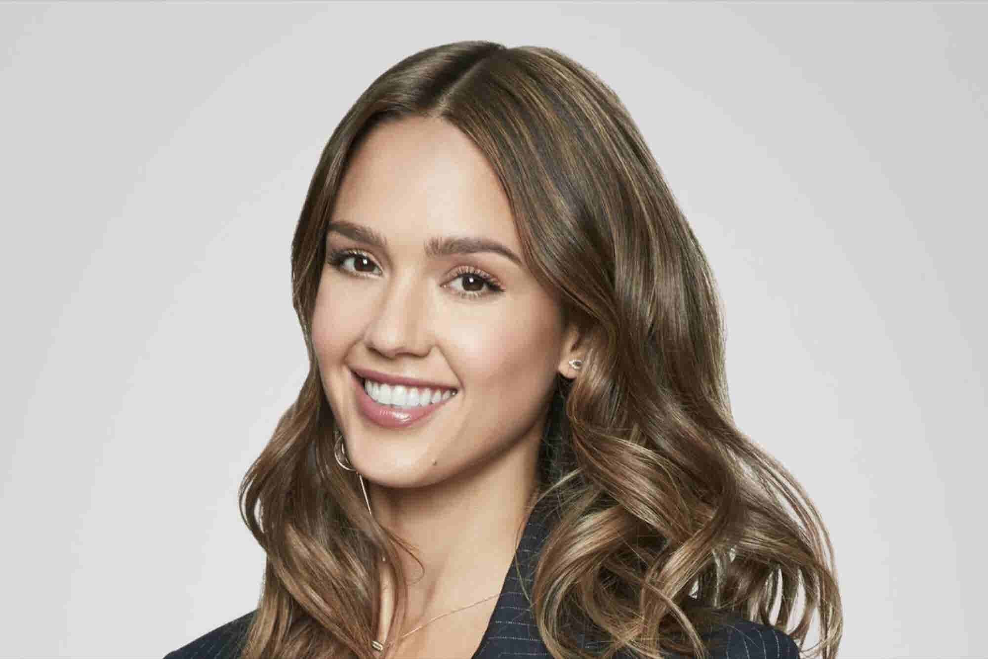 Jessica Alba on Being Brave, Dealing With Self-Doubt and Overcoming Ma...