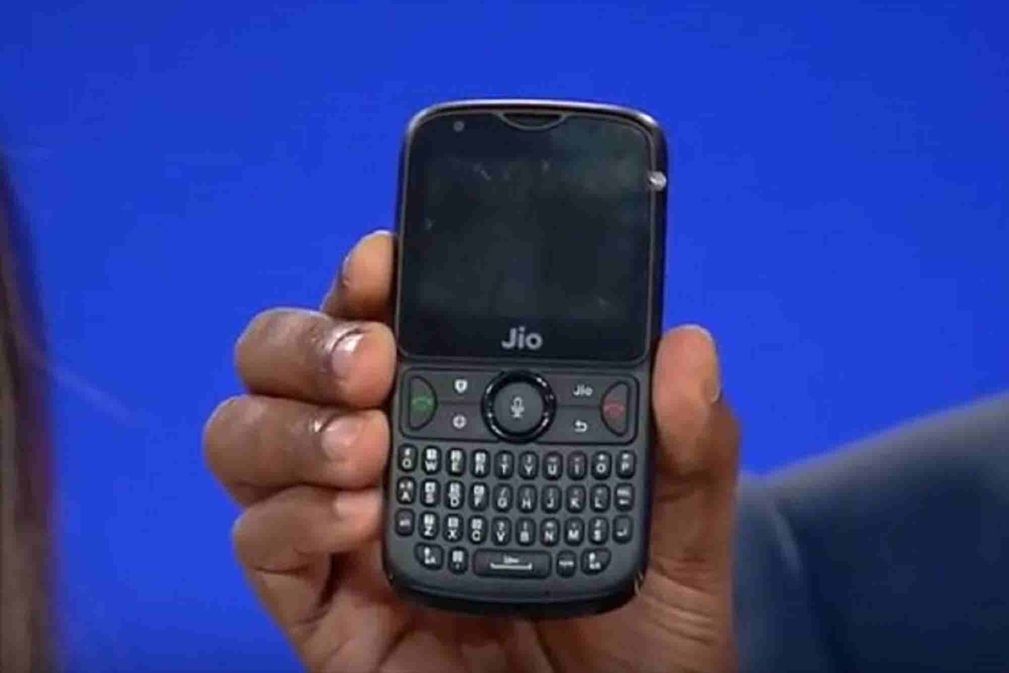 Reliance Unveils JioPhone2 & Now Indian Train Passengers can Keep a Cl...
