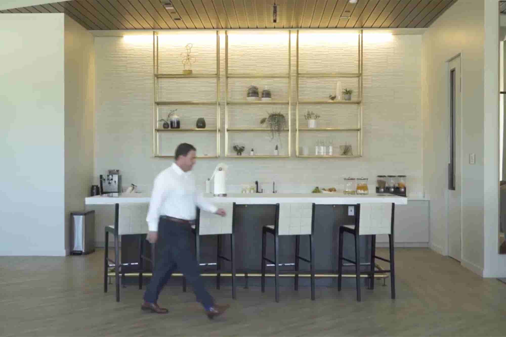 Flexibility and Visual Touches Make This Real Estate Company's Office Shine