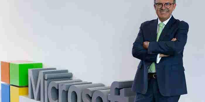 Él es el nuevo director general de Microsoft México