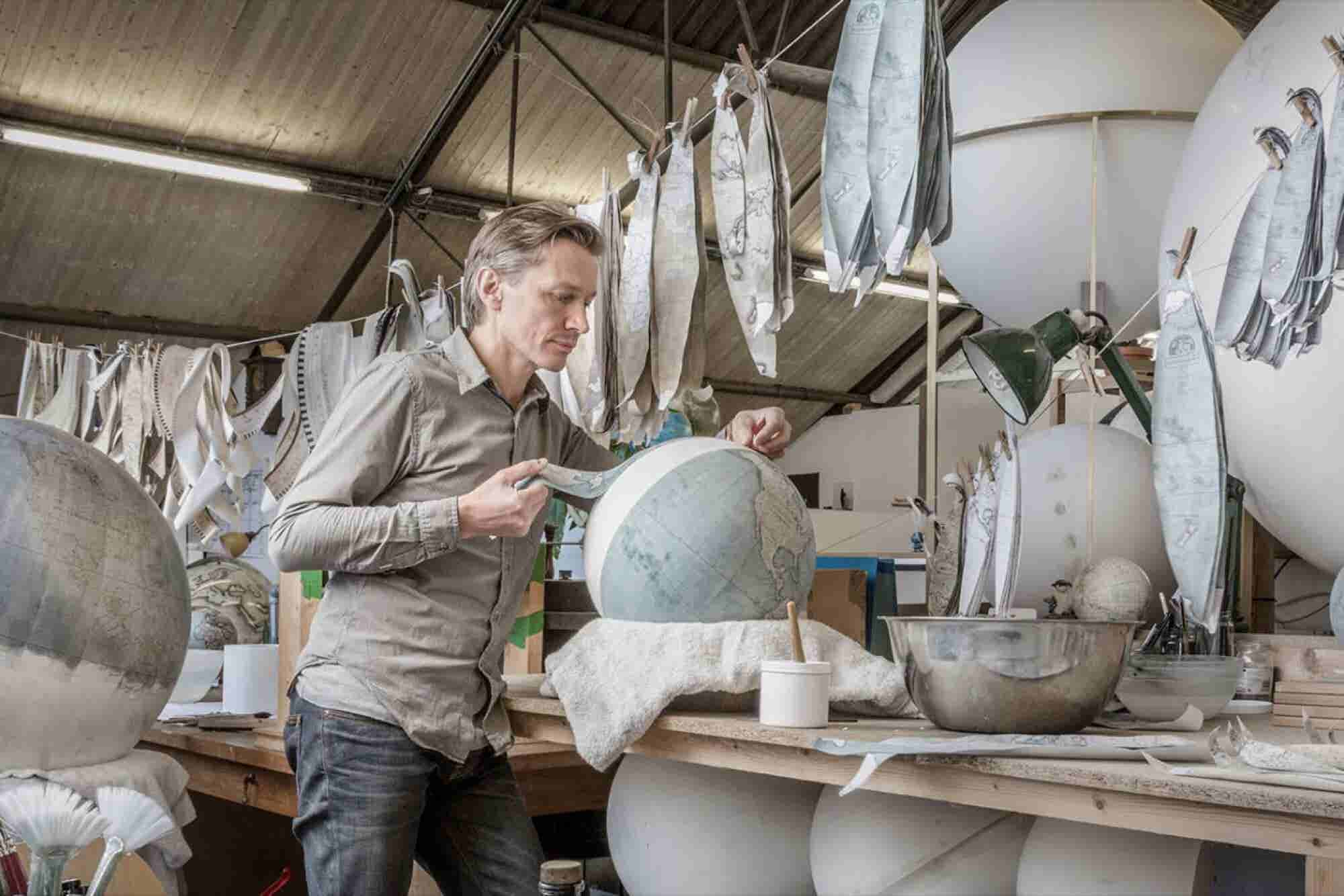 From $150,000 in Debt to $4 Million in Revenue: How One Man Built a Wildly Successful Globe-Making Business
