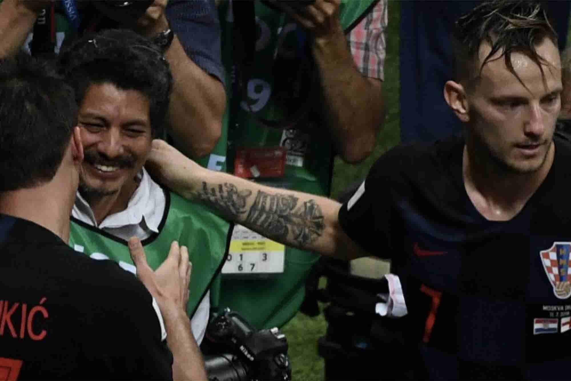 Yuri Cortez, el fotógrafo que se volvió un 'héroe' en el juego de Croacia-Inglaterra